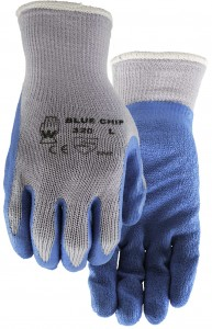 320-Blue-Chip Warehouse / construction gloves