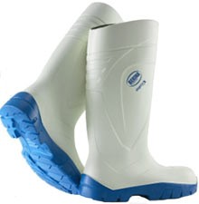 Bekina Steplite White PU boot Steel Toe Industrial boots