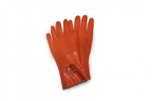 heavy duty orange industrial gloves - vanouver work gloves