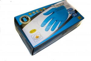 disposable nitrile gloves - vk 5 mil.